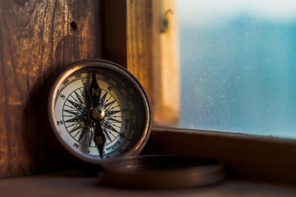 Persönlichkeitstest Orientierung Kompass